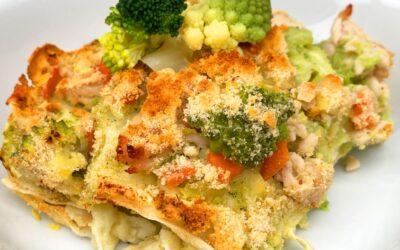 Lasagnetta di carasau, un piatto equilibrato e gustoso